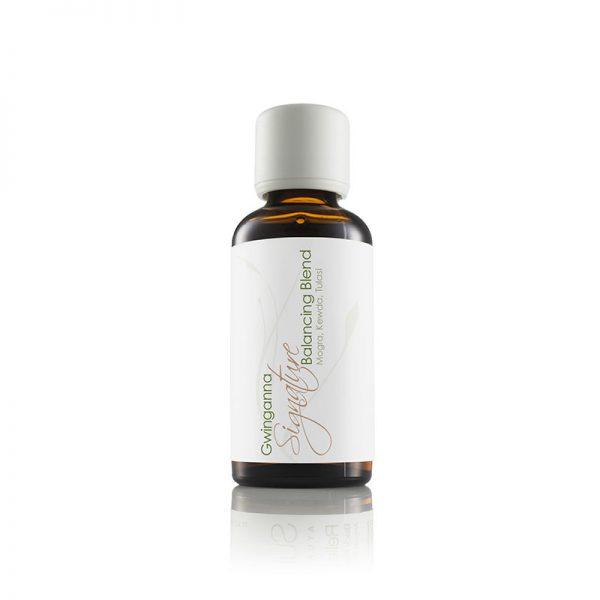 Massage oil bottle