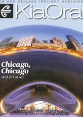 Kia Ora Magazine cover