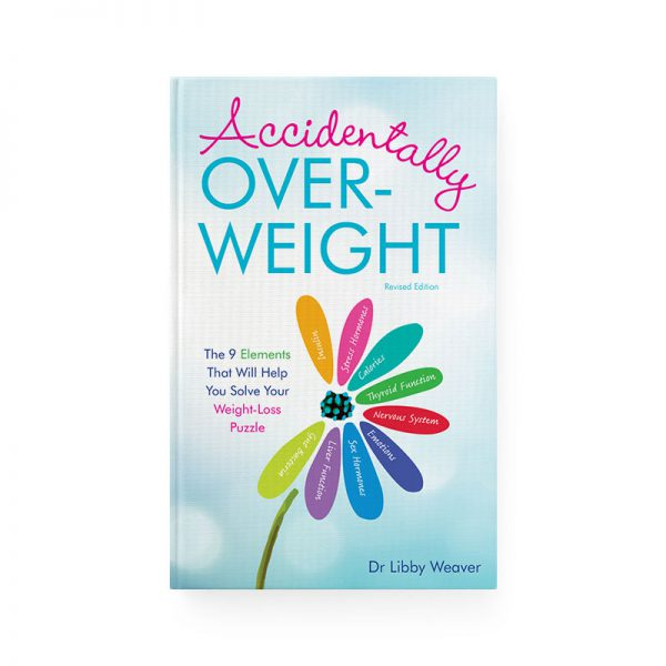 Cover of Accidentally Overweight book