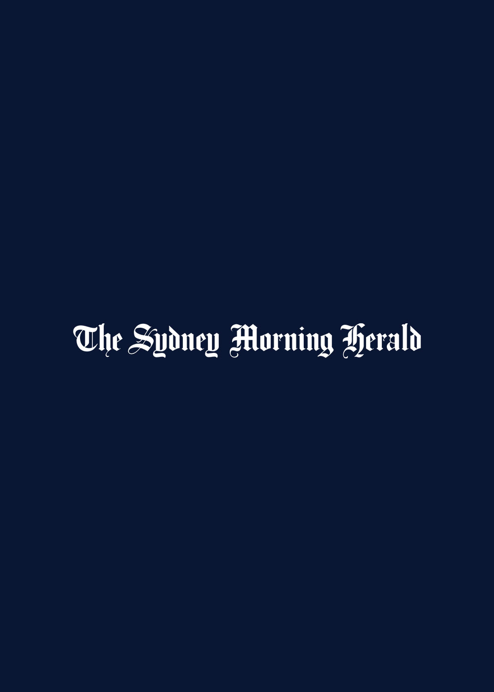 Logo of the Sydney Morning Herald