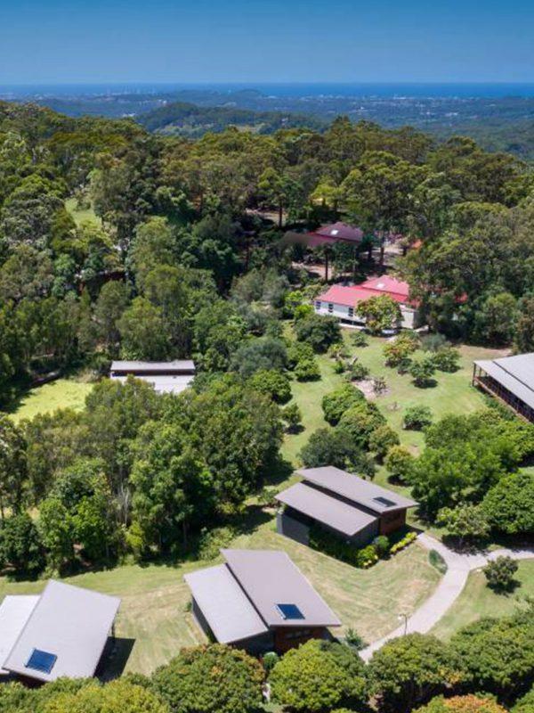 Aeiral view of Hugh Jackman's retreat